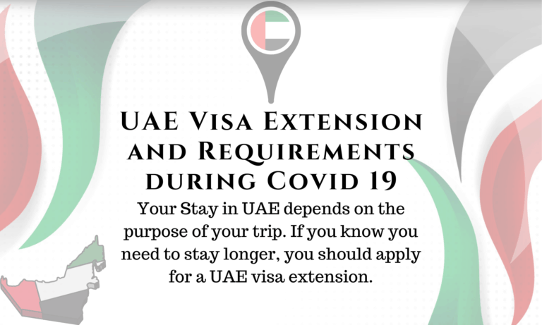 UAE Visa Extension and Requirements during Covid 19