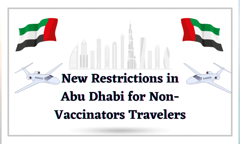 New Restrictions in Abu Dhabi for Non-Vaccinators