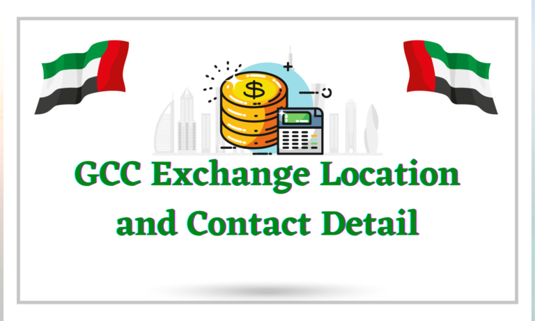 GCC Exchange Location and Contact Detail